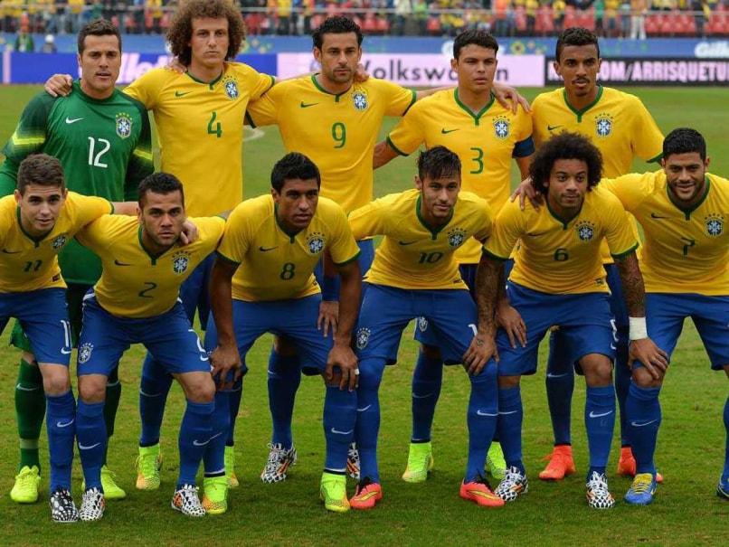Brazil football team world cup 2014