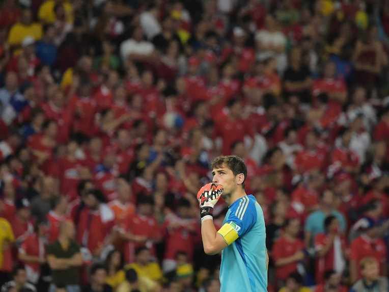 Casillas disappointed