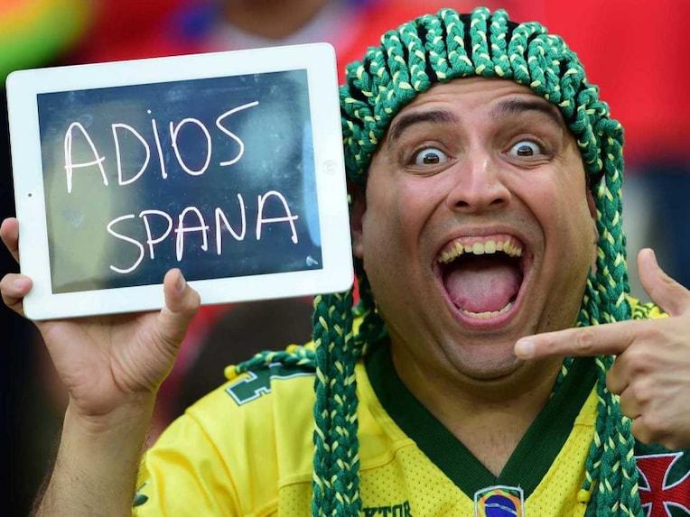 Chile fan Spain