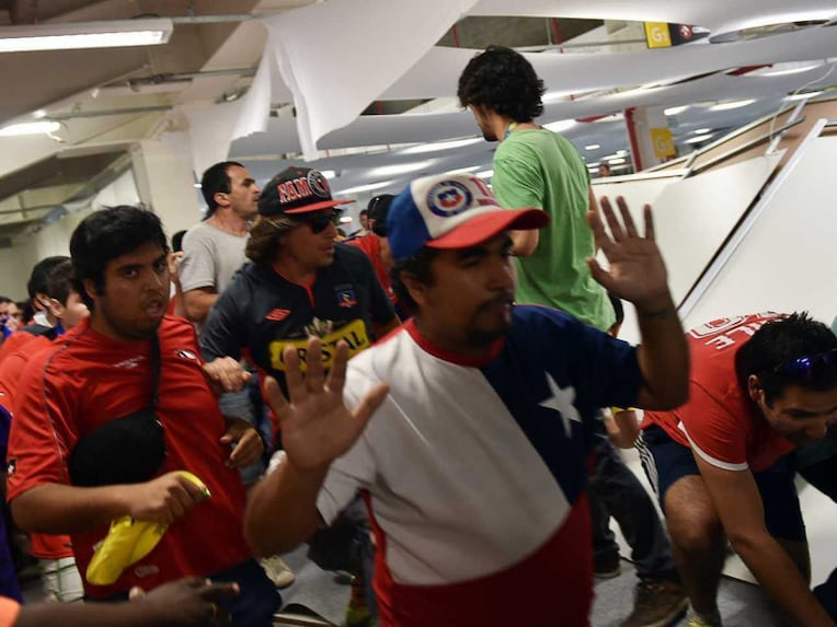 Chile fans fury 2