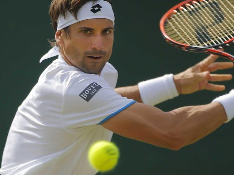 David Ferrer Wimbledon