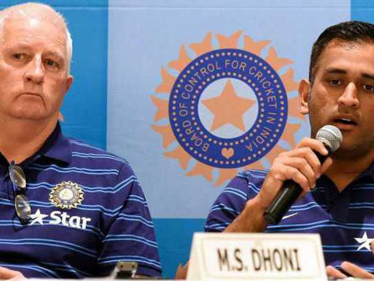 Dhoni and Fletcher Ahead of India's Tour of England