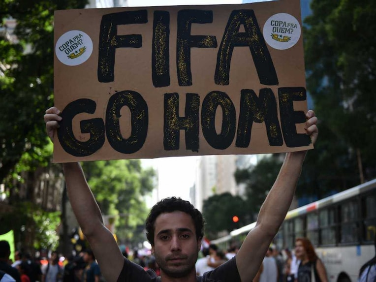 FIFA World Cup Protest