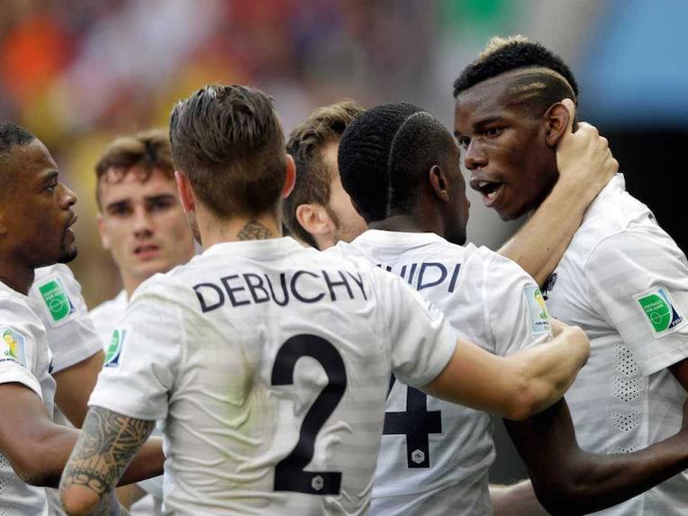 France players Nigeria