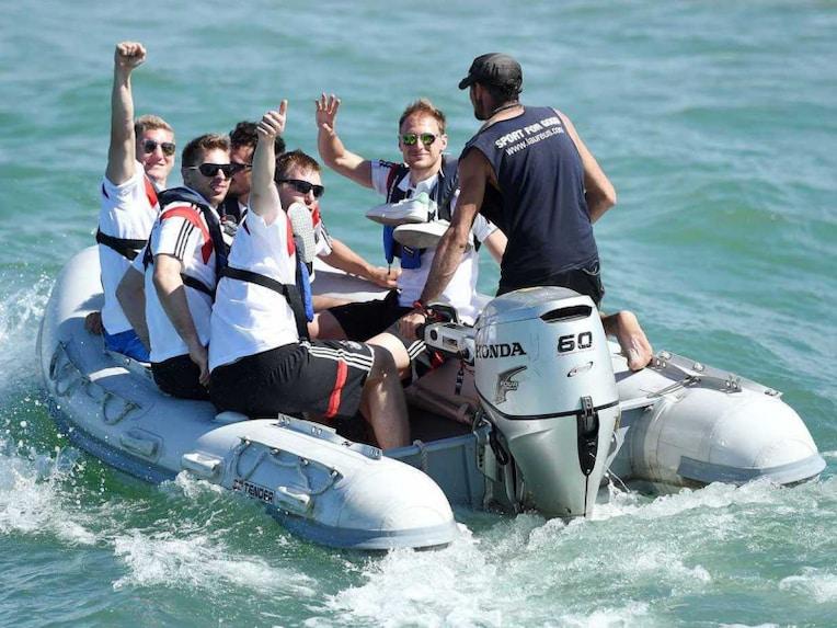 German Team sailing 2