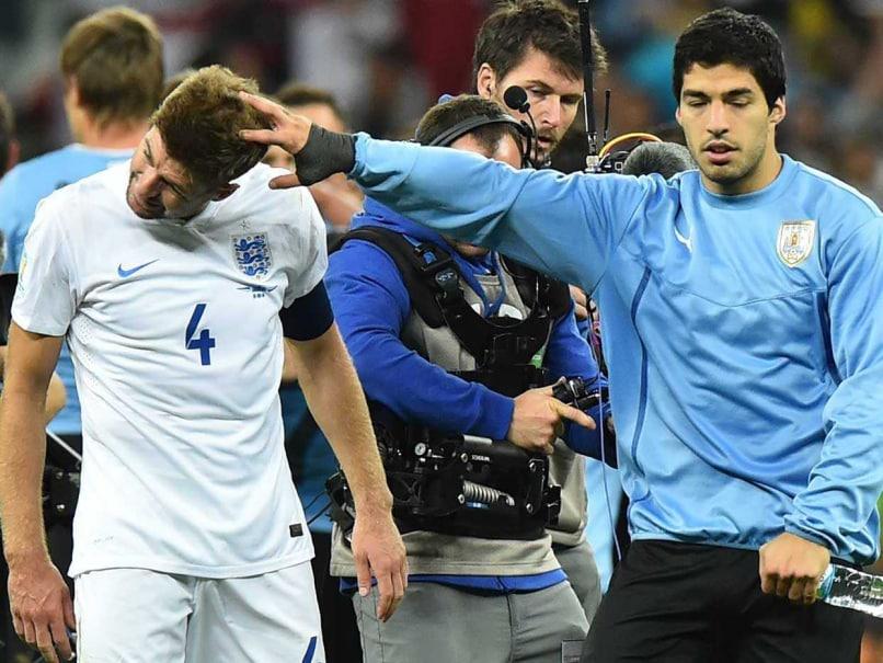 Gerrard suarez world cup