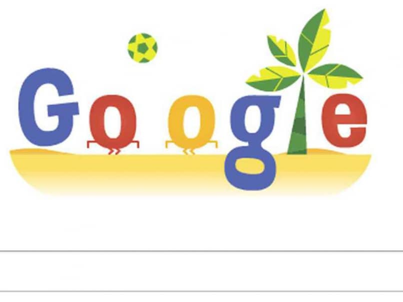 Googles interactive doodle dedicated to the FIFA World Cup