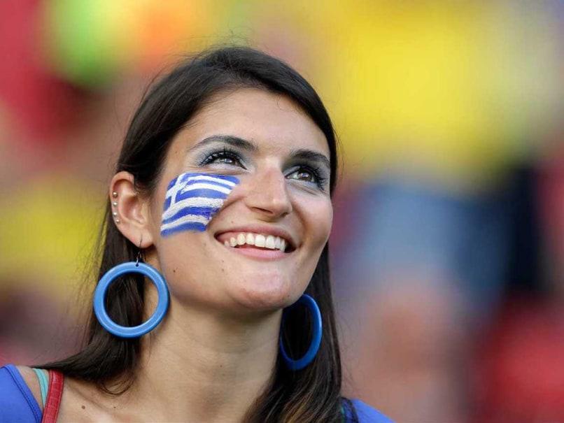 Greece fan world cup