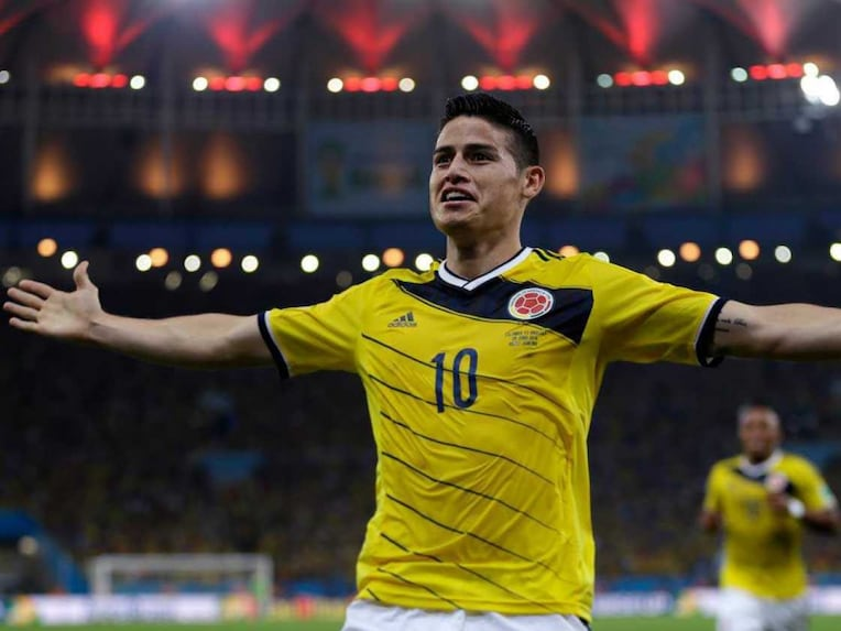 James Rodriguez scored six goals in the tournament