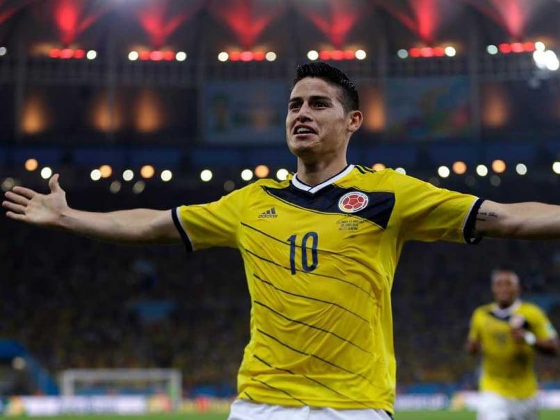 James Rodriguez scored six goals in the tournament
