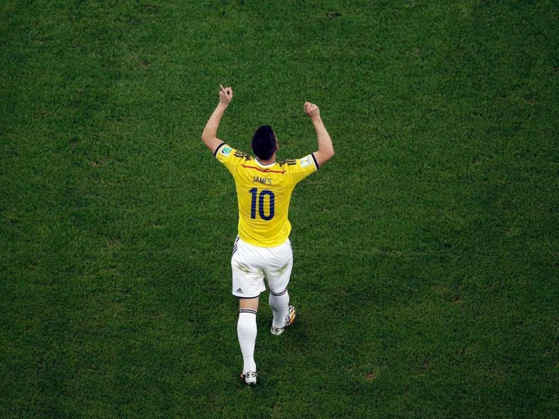 James Rodriguez world cup