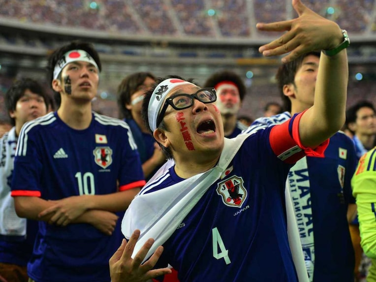 Japan football fans