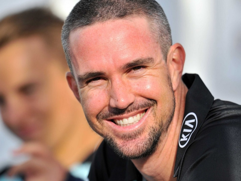 Surreys Kevin Pietersen waits to play in the T20 cricket match against Essex at The Oval in London on June 6, 2014.