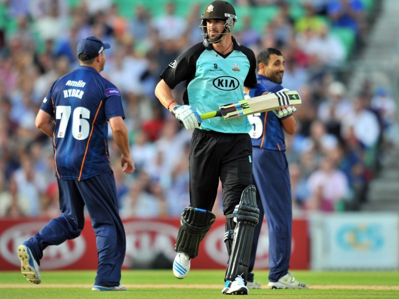 Kevin Pietersen represents Surrey in Englands domestic T20 competition.