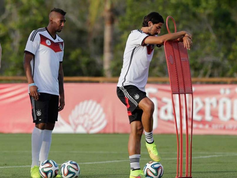 Sami Khedira and Jerome Boateng