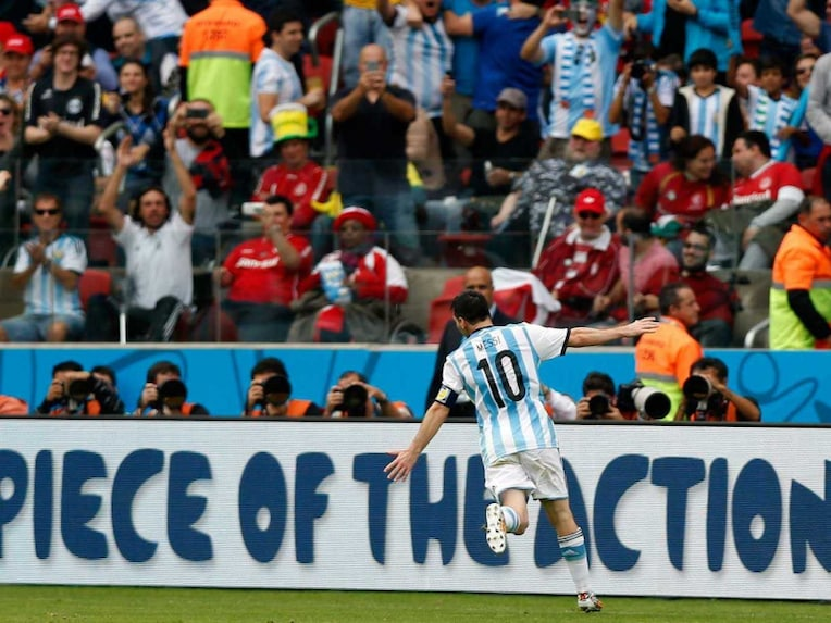 Lionel Messi Argentina football 1