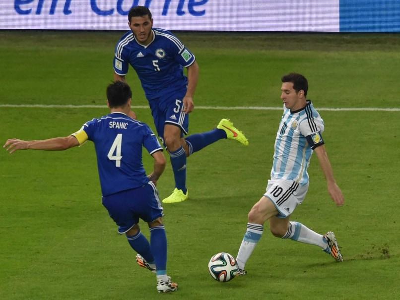 Lionel Messi FIFA WC 14
