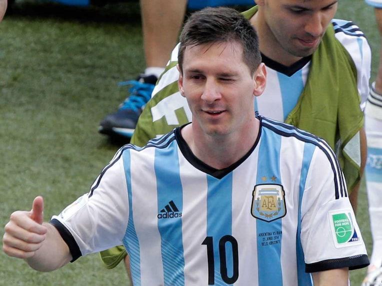Lionel Messi hero