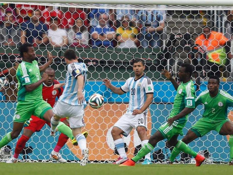 Messi vs Nigeria In The 2014 FIFA World Cup