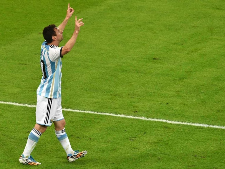 Lionel Messi World Cup 1