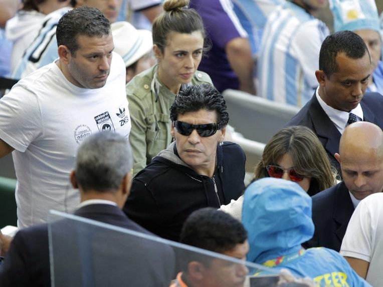 Maradona on Suarez