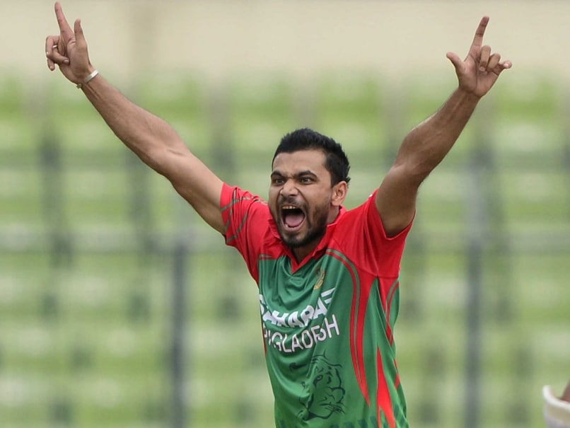 Mashrafe Mortaza 2013 Mortaza Urges Team to Maintain