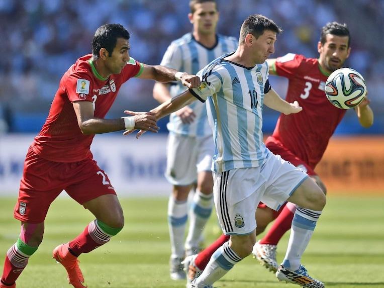 Messi vs Iran