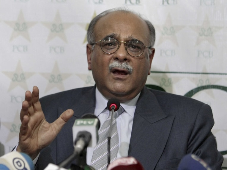 File photo: Najam Sethi has been in and out of office since taking over as PCB chief.