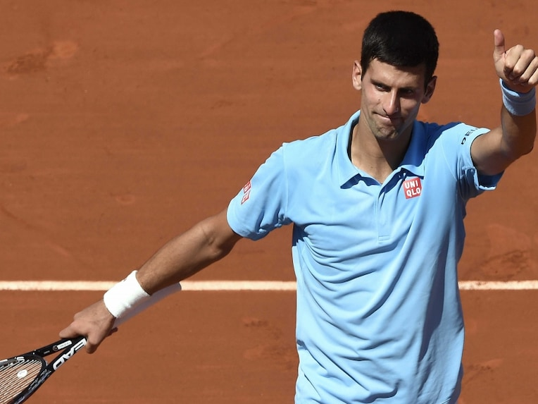 NNovak Djokovic beat Ernests Gulbis to setup French Open title showdown vs Rafael Nadal