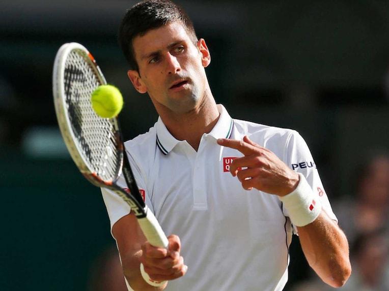 Novak Djokvovic Wimbledon 2014
