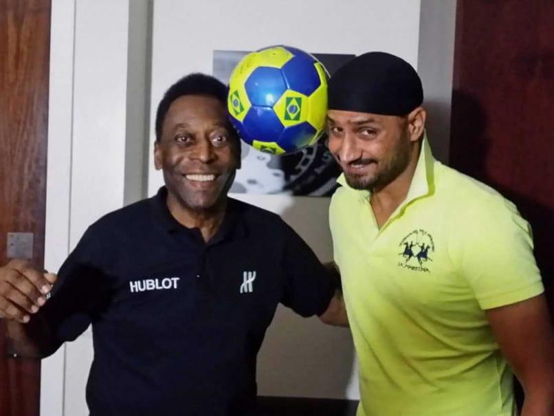Pele and Harbhajan Singh