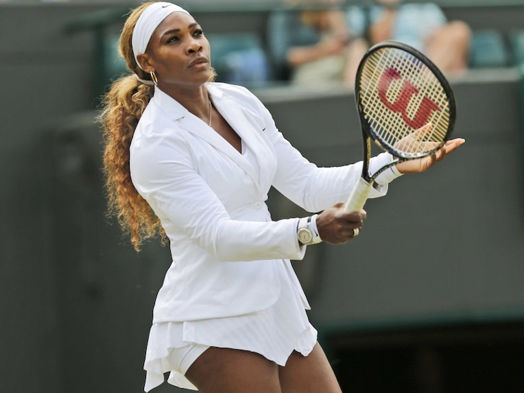 Serena Williams Wimbledone Rd 2