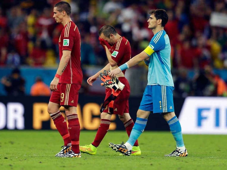 Spain exit world cup