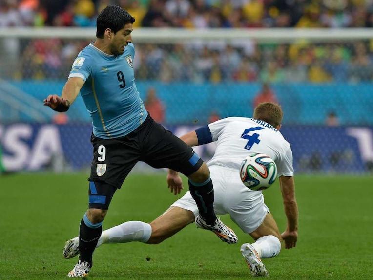 Suarez Gerrard world cup 2