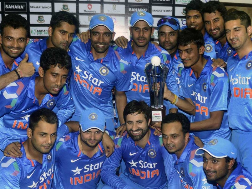 Team India Bangladesh ODI