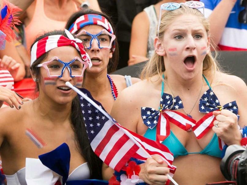 US fans celebrate World Cup