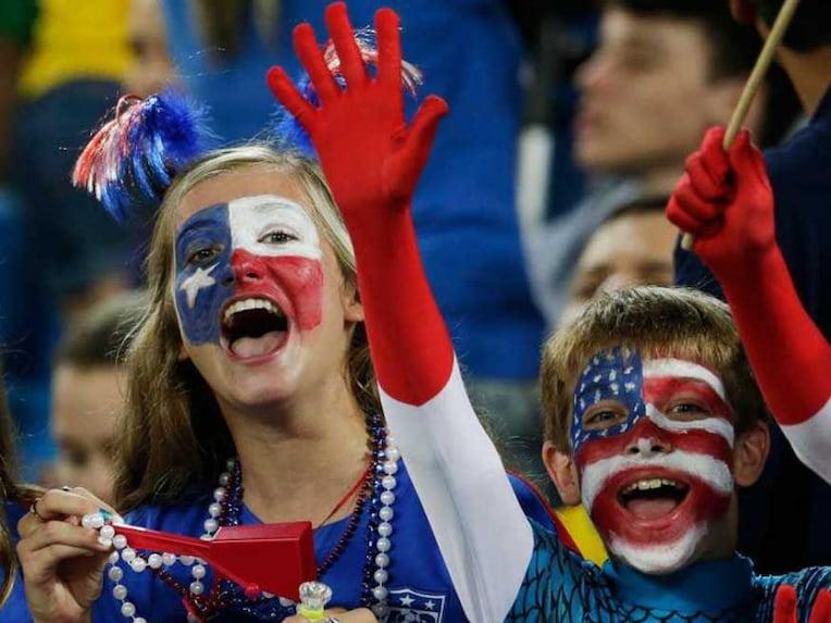 USA fans football