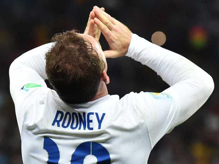 Wayne Rooney England Uruguay