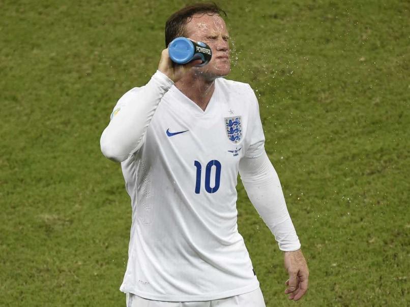 Wayne Rooney World Cup clash