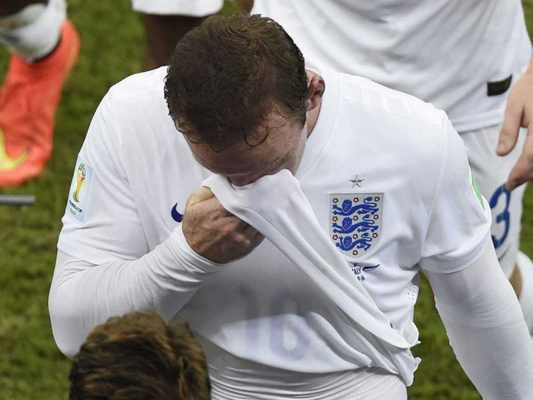 Wayne Rooney World Cup match