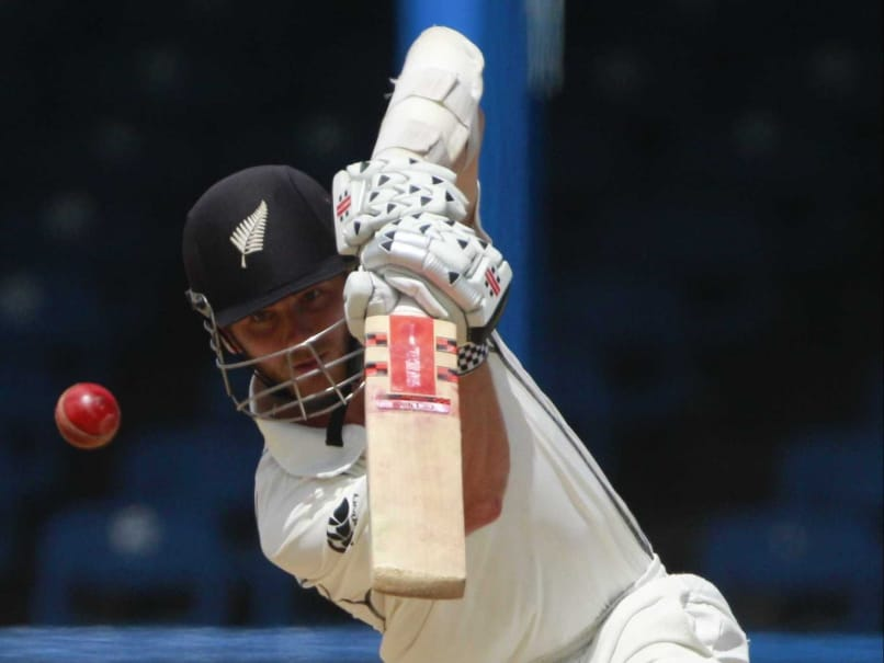 New Zealands Kane Williamson in action against the West Indies.