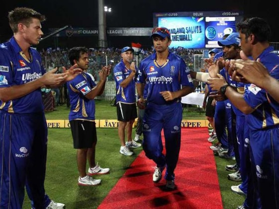 CLT20: Emotional Rahul Dravid thanks players, supporters for warm farewell