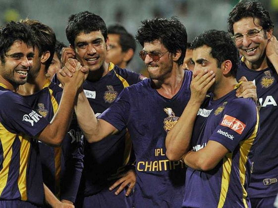 Kolkata celebrates Shah Rukh, KKR at Eden