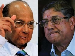N. Srinivasan, Sharad Pawar Face Exile After Lodha Panel Recommends Age, Tenure Limits
