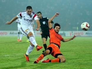 Indian Super League: Delhi Dynamos Beat NorthEast United