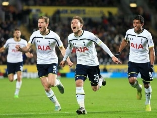 Last-Gasp Christian Eriksen Sees Tottenham Hotspur Past 10-man Hull City