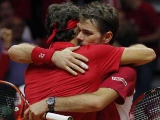 Roger Federer Credits Stanislas Wawrinka for Maiden Davis Cup Triumph