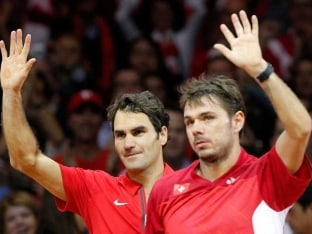 Roger Federer and Stan Wawrinka Give Switzerland 2-1 lead in Davis Cup Final