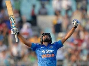 Rohit Sharma's Lucky ODI Double Century Bats