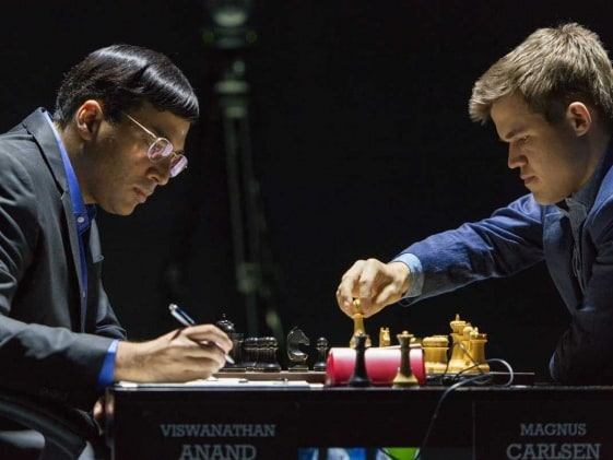 World Chess Championship: Anand Draws Game 9 vs Carlsen, Trails By One Point